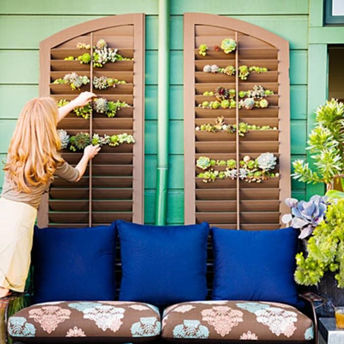 1001 idee per arredare il balcone piccolo con accenti di for Arredare il giardino fai da te