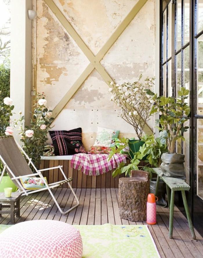 1001 idee per arredare il balcone piccolo con accenti di