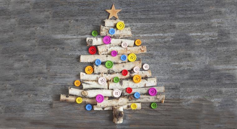 1001 idee per alberi di natale originali tutorial fai - Pacchetti natalizi fai da te ...
