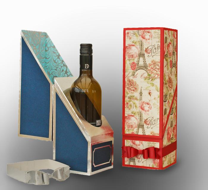 idea-regalo-fai-da-te-scatola-cartone-découpage-confezione-regalo-bottiglia-di-vino
