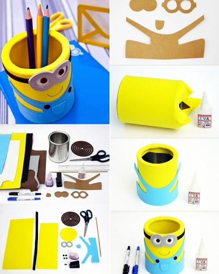 idee-creative-fai-da-te-barattolo-latta-minions-procedimento-realizzazione-portamatite