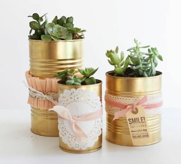 idee-creative-fai-da-te-barattolo-latta-vaso-piante-grasse-decorazione-pizzo-nastro-rosa