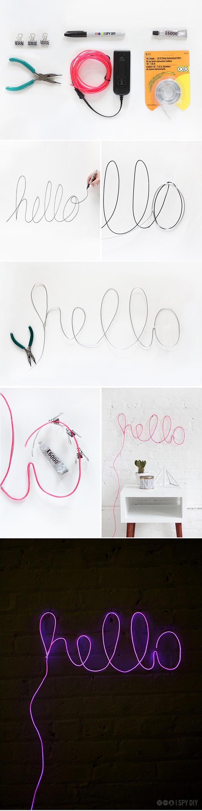 idee-fai-da-te-lettere-neon-luminose-scritta-hello-decorare-parete-cameretta-stanzetta