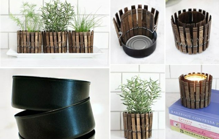 idee-fai-da-te-scatole-di-latta-vintage-mollette-vecchie-candela-portacandele-vasi-spezie