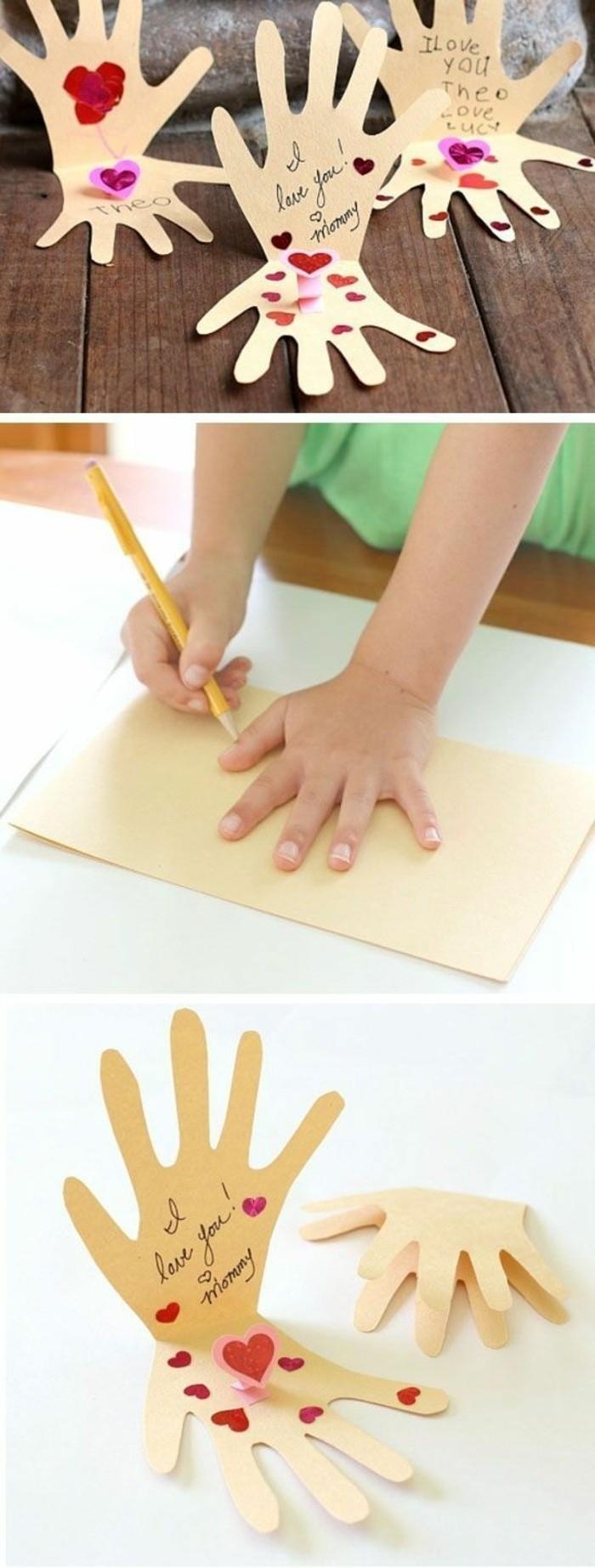 lavoretti-bambini-idea-regalo-festa-mamma-realizzata-impronta-mano-colorata-decorata-cuori