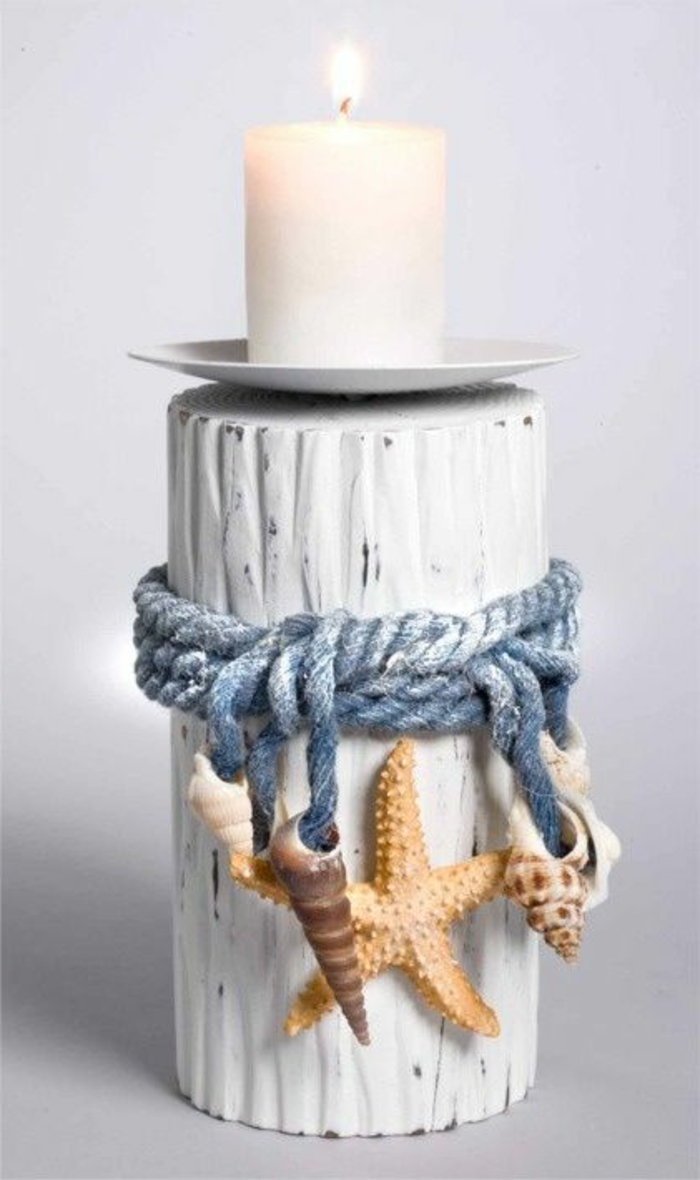 lavoretti-creativi-candele-portacandele-stile-marinaro-effetto-legno-colore-bianco-decorato-corda-stella-marina-conchiglie