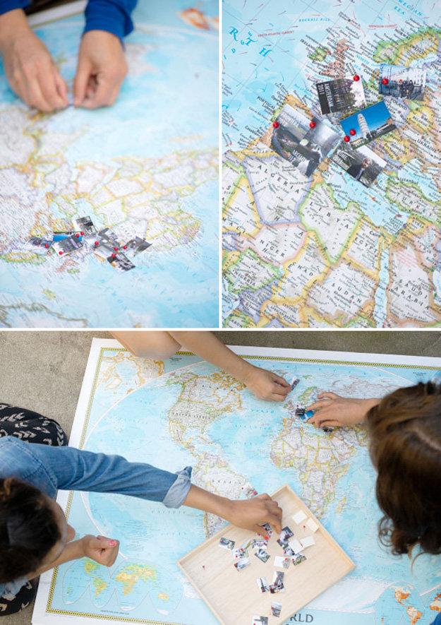 lavoretti-creativi-fare-famiglia-mappamondo-immagini-idea-decorazione-parete-addobbi