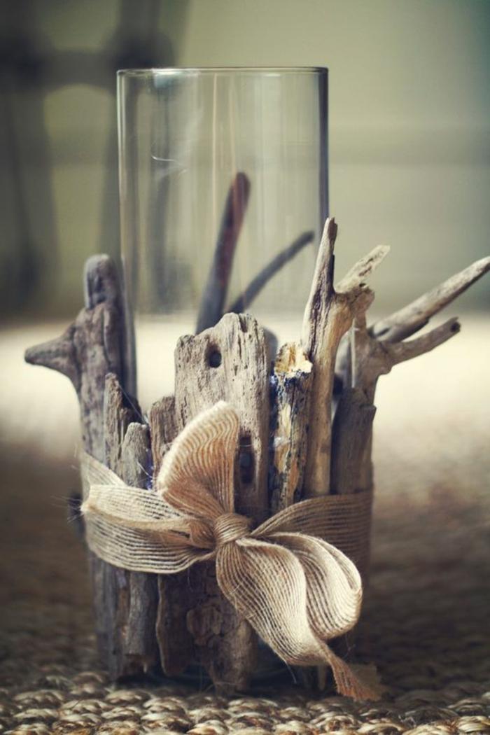 lavoretti-creativi-portacandele-rustico-legno-bicchiere-vetro-nastro-fiocco-decorare-finestre-casa