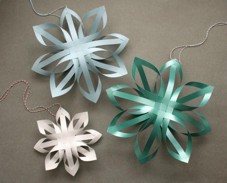 dei ciondoli a forma di fiocco di neve ideali per creare orecchini o collane fai da te