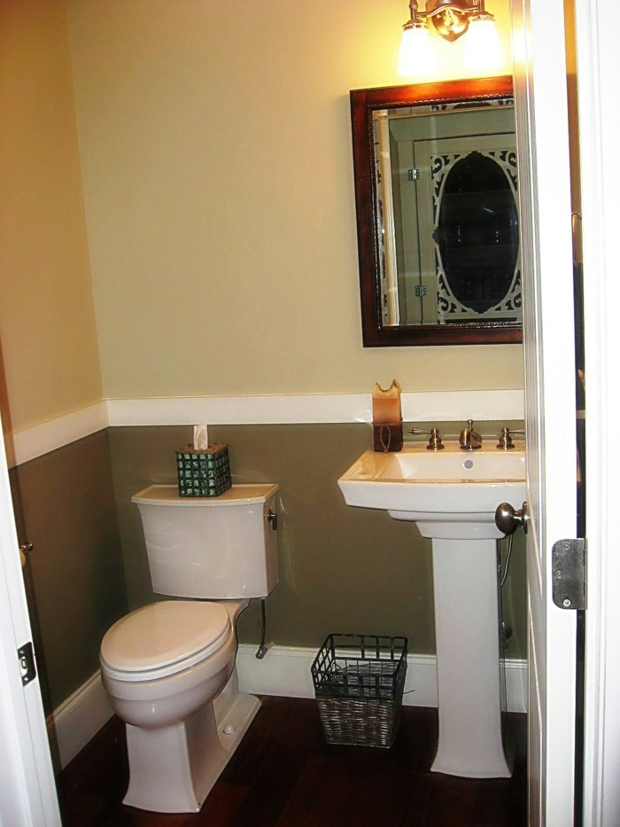 1001 idee per il bagno senza piastrelle molto creative - Sanitari bagno old england ...