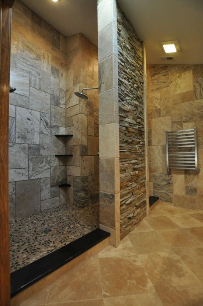 pareti-bagno-senza-piastrelle-effetto-pietra-naturale-stule-rustico-doccia-walk-in-scalda-salviette