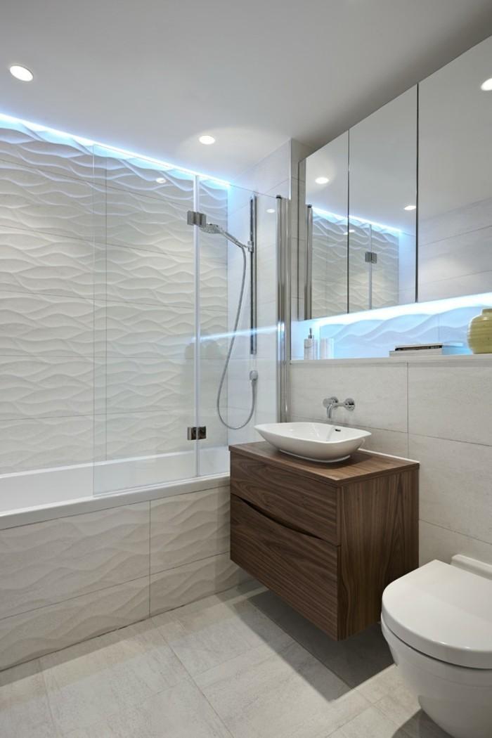 1001 idee per il bagno senza piastrelle molto creative for Fliesenspiegel badezimmer