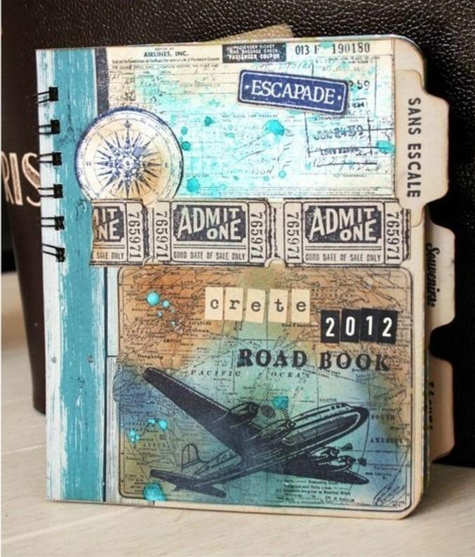quaderno-di-viaggio-anelli-copertina-rigida-decorata-ritagli-giornale-stile-vintage-mappamondo-aereo