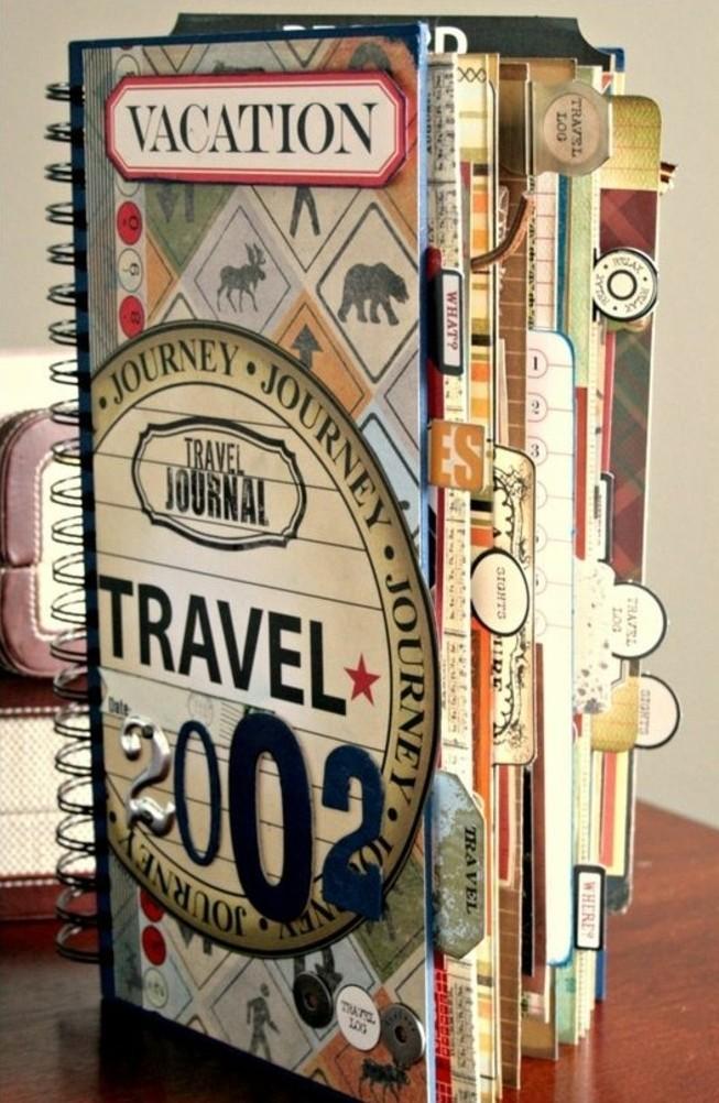 quaderno-di-viaggio-copertina-rigida-collage-bricolage-segnalibro-immagini-foto-vacanze