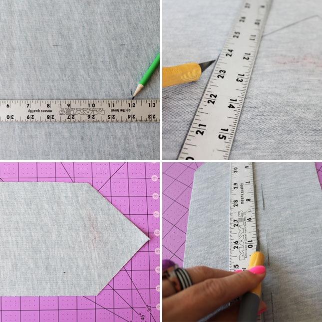 regali-per-papà-tutorial-fai-da-te-modalità-fabbricazione-righello-matita-nera-foglio-forme