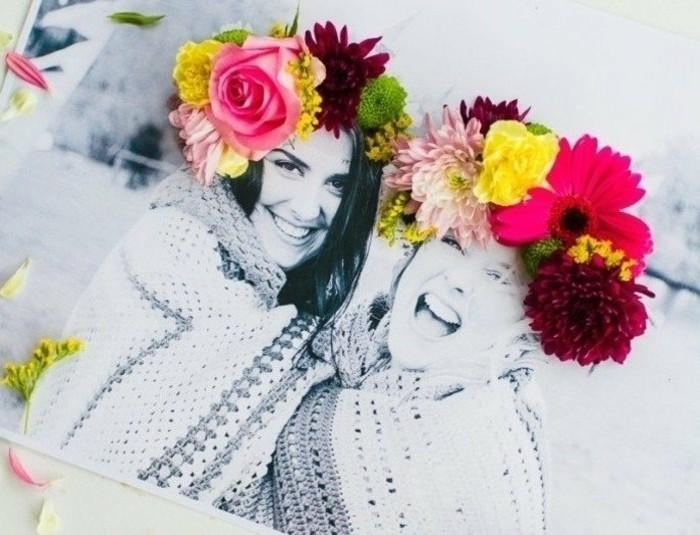 regalo-amica-speciale-idea-molto-carina-fai-da-te-personalizzare-foto-fiori-colorati