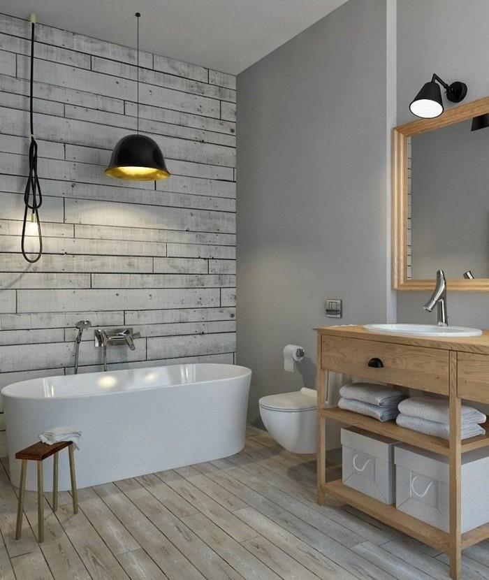 1001 + idee per il bagno senza piastrelle molto creative