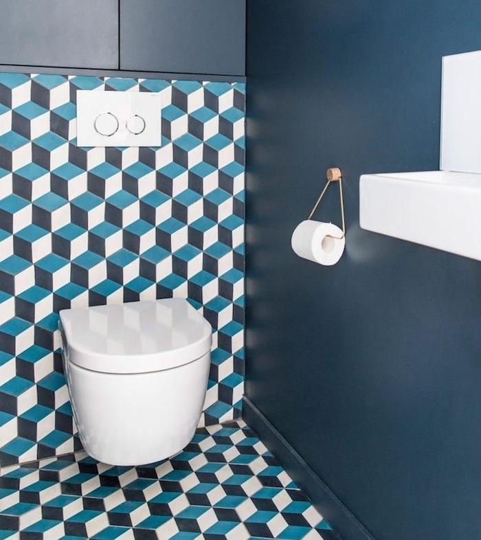 1001 idee per decorazioni bagno idee originali - Decoration wc originale ...