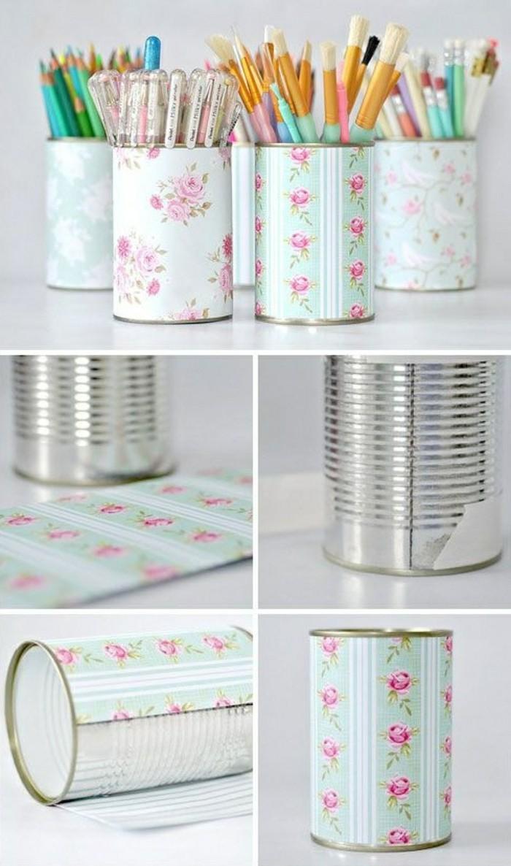 scatole-di-latta-vintage-decorazione-fai-da-te-portamatite-barattolo-carta-colorata-colla