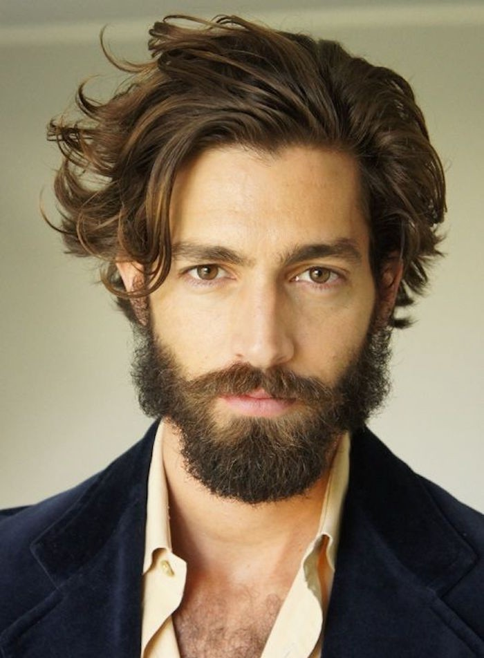 1001 Idee Per Capelli Medio Lunghi Uomo Per Un Hairstyle Di Tendenza