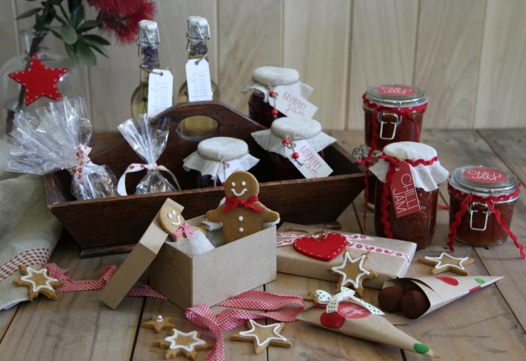 regali fatti in casa, un tripudio di leccornie tutte a tema natalizio da regalare
