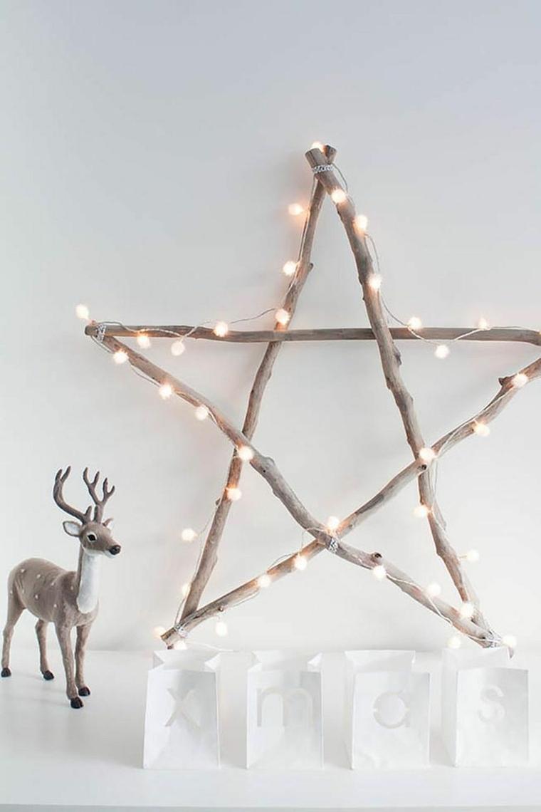 Come Creare Una Renna Luminosa ▷ 1001 + idee per decorazioni natalizie - anche fai da te