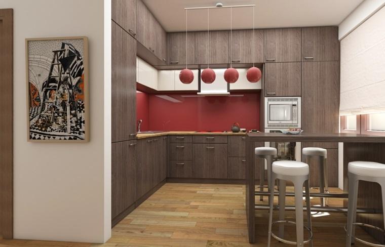▷ 1001 + idee per Cucine moderne piccole - soluzioni di design