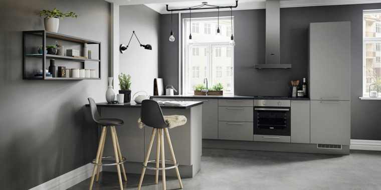 1001 idee per cucine moderne piccole soluzioni di design for Cucina piccola moderna