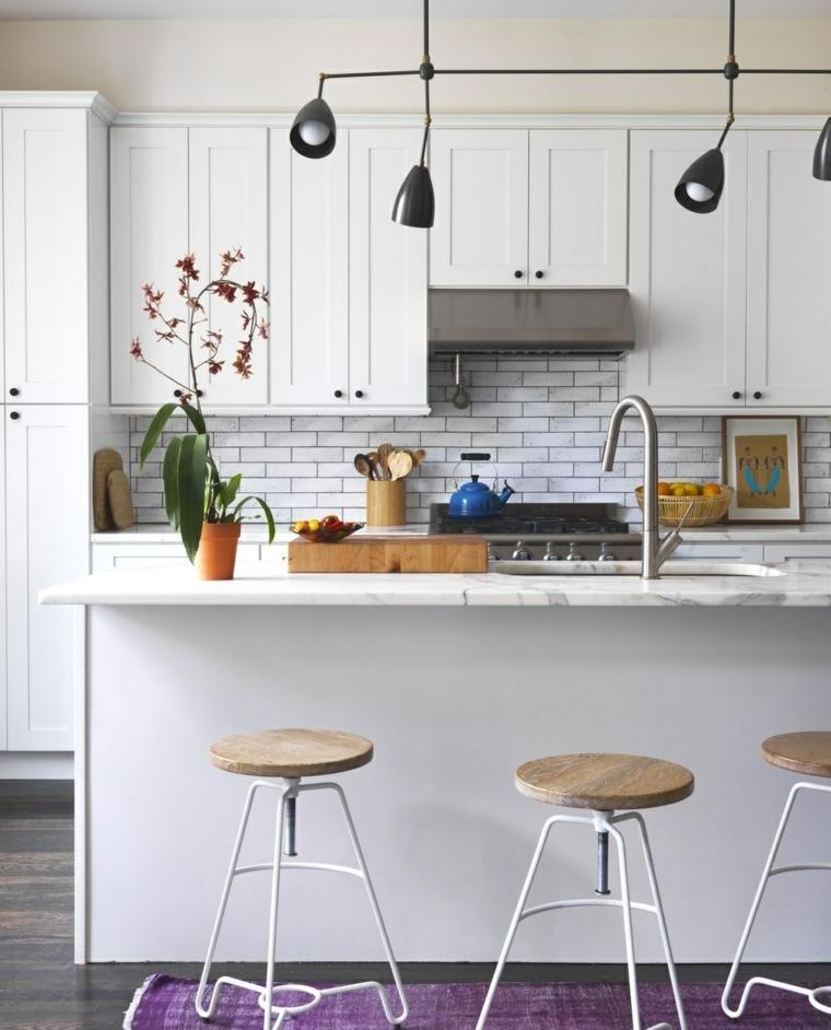 Cucine Moderne Bianche Foto : Idee per cucine moderne piccole soluzioni di design