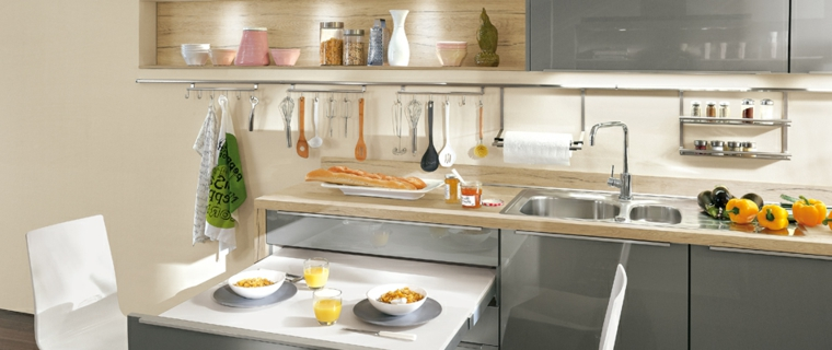 Awesome tavolo per cucina piccola images ideas design for Armadietti ikea piccoli