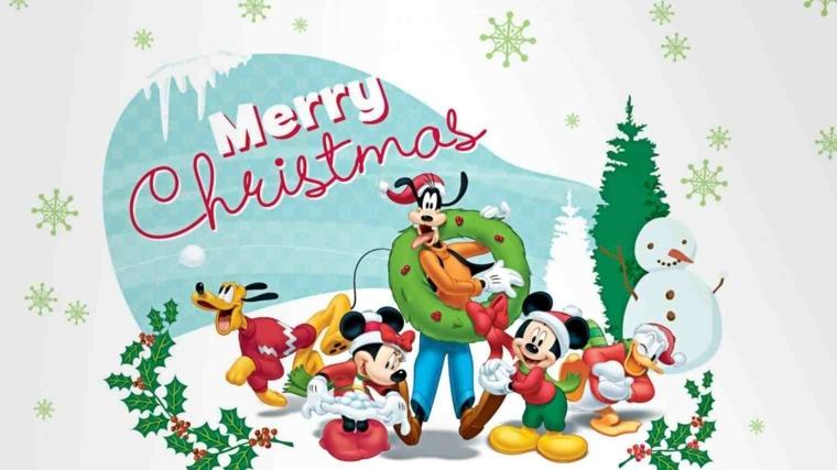 Disegni Di Natale Topolino.1001 Idee Per Disegni Di Natale Belli E Facili Da Realizzare