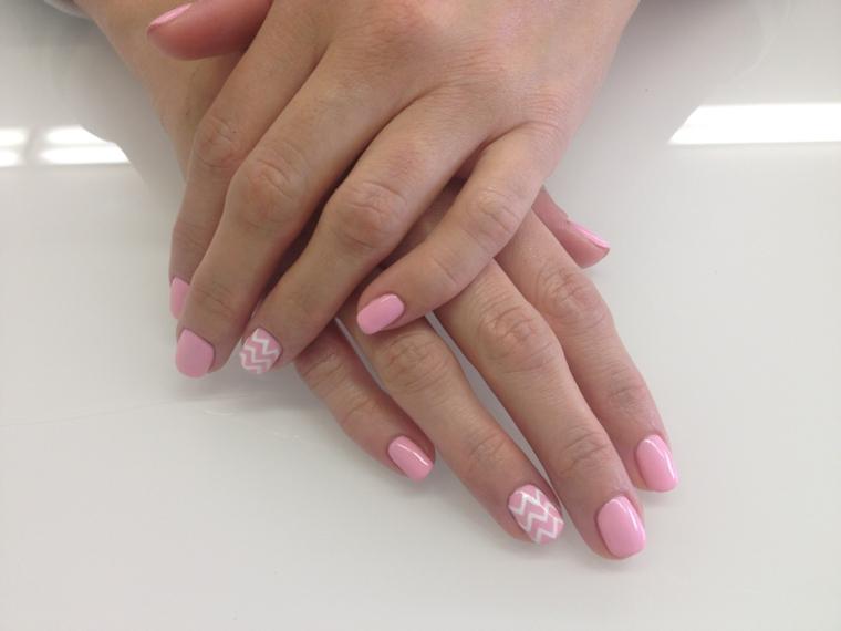 Assez ▷ 1001+ idee per unghie rosa in tutte le varie sfumature moda NR61
