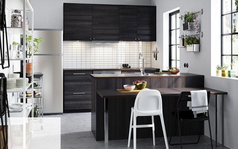 Beautiful Cucine Moderne Piccole Contemporary - Amazing House Design ...