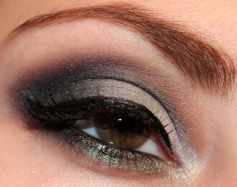 come si truccano gli occhi, una proposta di make up adatta a tutti i giorni per gli occhi verde-marrone