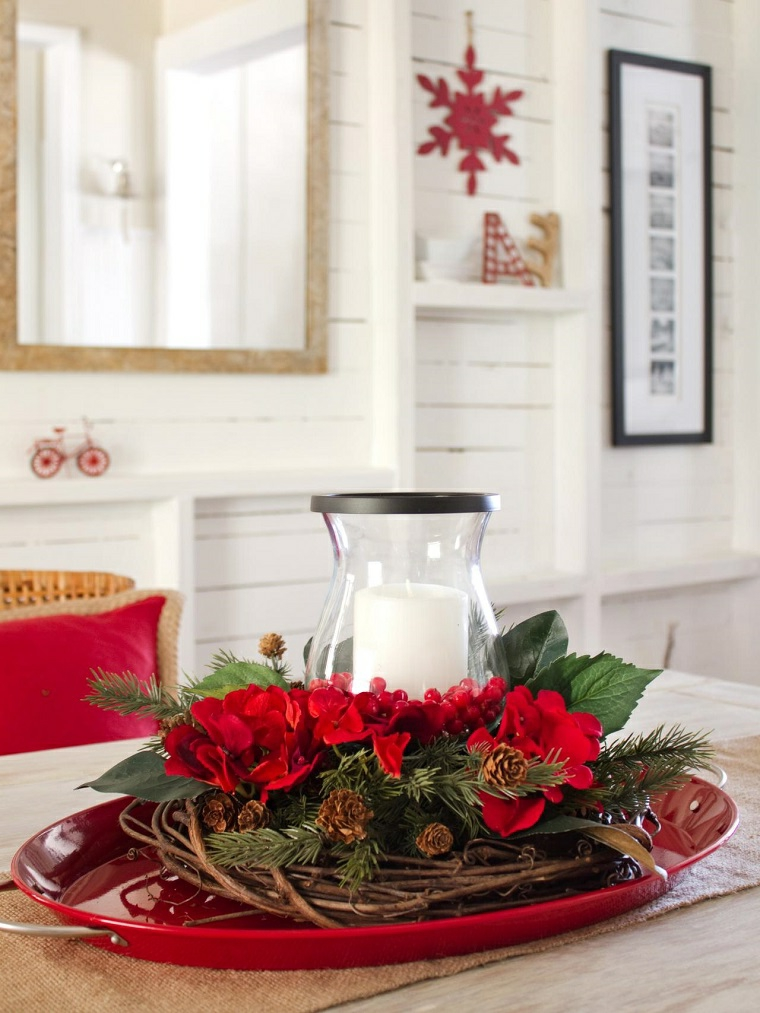 1001 idee per centrotavola natalizi creativi e originali - Portacellulare da tavolo fai da te ...