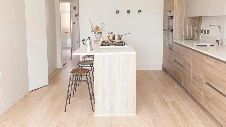 1001 idee per cucine moderne piccole soluzioni di design for Piccola sala da pranzo
