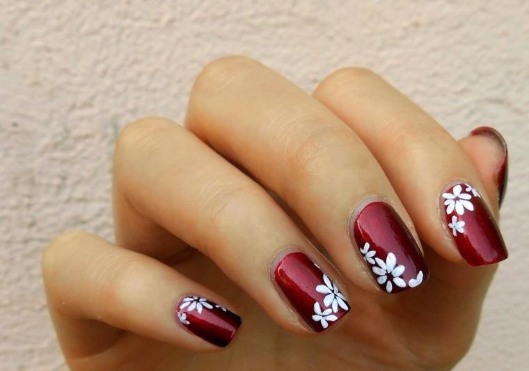1001+ idee per unghie rosse da sfoggiare l'ultimo giorno ...