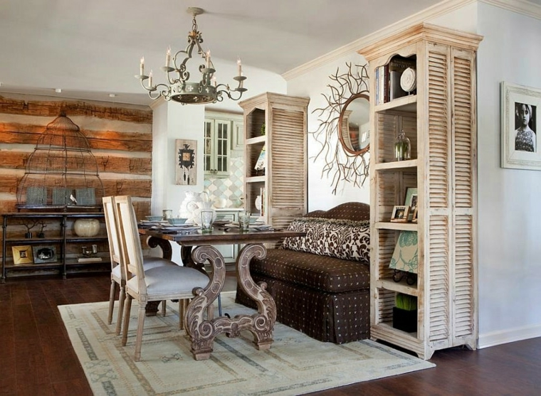 Mobili Antichi Per Sala Da Pranzo : Arredamento moderno con pezzi antichi simple in una camera da