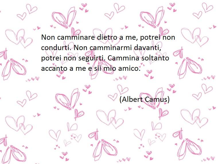 lo scrittore francese camus, autore di molte frasi belle fra cui alcune dedicate all'amicizia