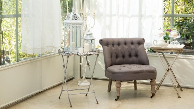 1001 idee per stile shabby l 39 arredo e la decorazione for Tavolini in ferro battuto per esterni