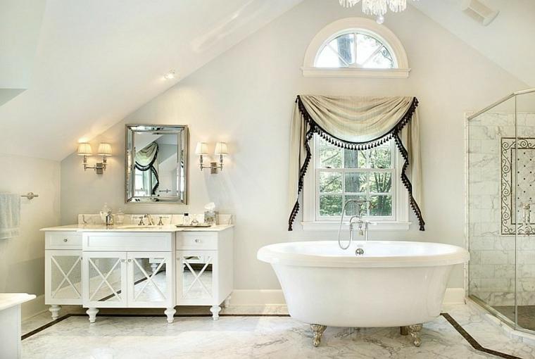 1001 idee per stile shabby l 39 arredo e la decorazione - Bagno stile shabby ...