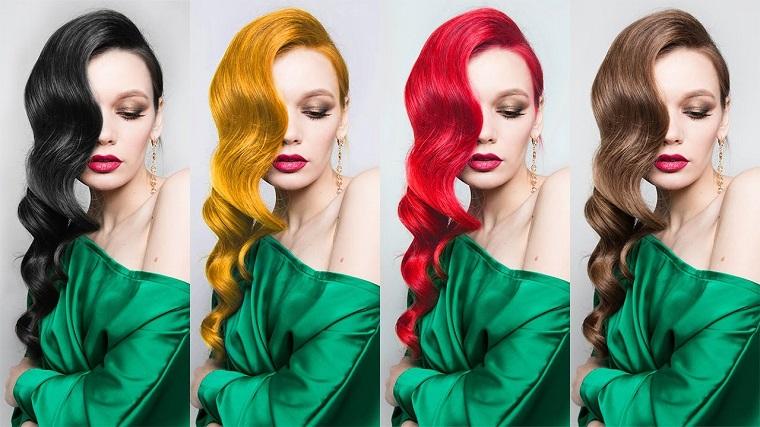 Colorazione capelli lunghi e una proposta con le trend del 2018