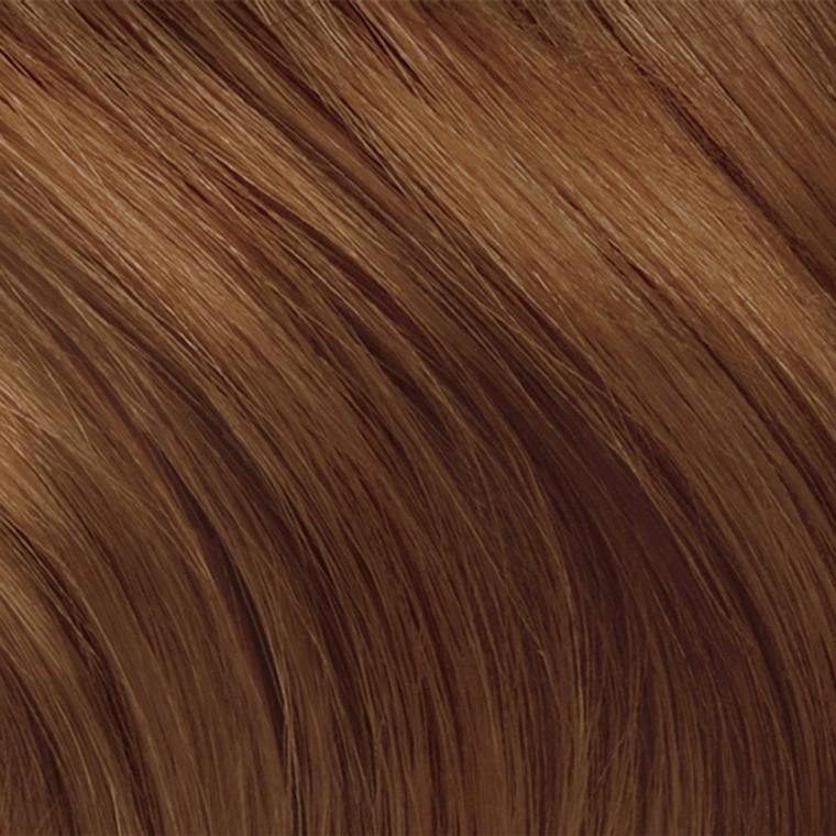 Tinte naturali per capelli, colore castano sul caramello, idea colorazione per donna con i capelli lunghi
