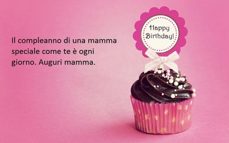 un pensiero carico di amore dedicato alla propria mamma nel giorno del suo compleanno