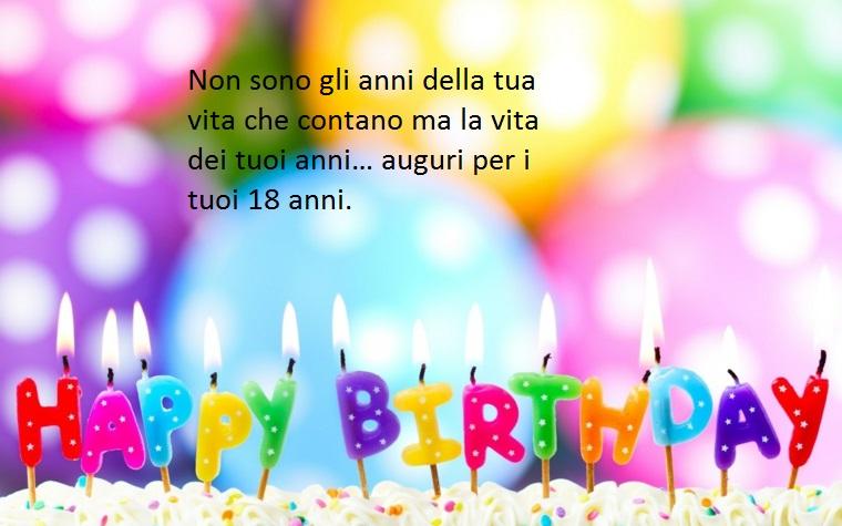 idea per i diciotto anni, frasi buon compleanno che fanno riflettere sul valore della vita