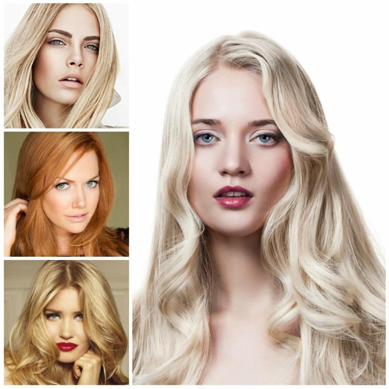 Idee colorazione capelli lunghi sulle sfumature del biondo