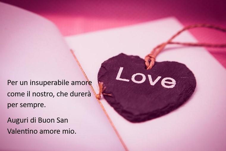 Frasi ironiche per le dediche Festa degli innamorati, cuore con scritta Love e diario con fogli bianchi