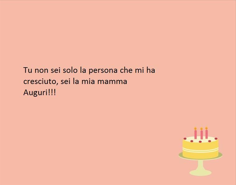 un pensiero semplice ma ricco di affetto dedicato alla mamma nel giorno del compleanno