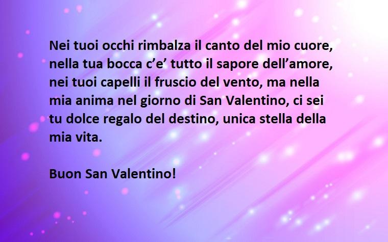 frasi dolci per lei per san valentino