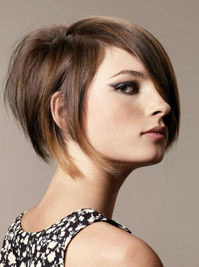 acconciature capelli corti, una proposta di bob elegante e raffinato per capelli lisci
